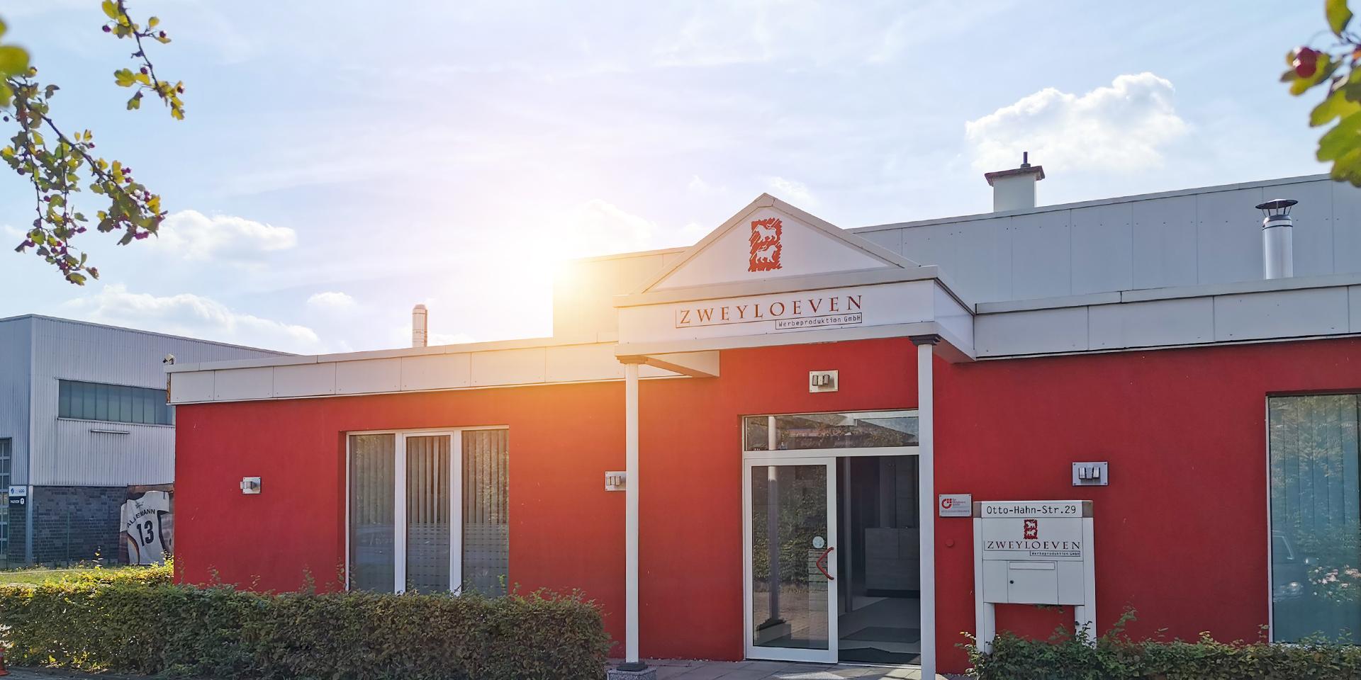 Zweyloeven Werbeproduktion GmbH - Bürogebäude
